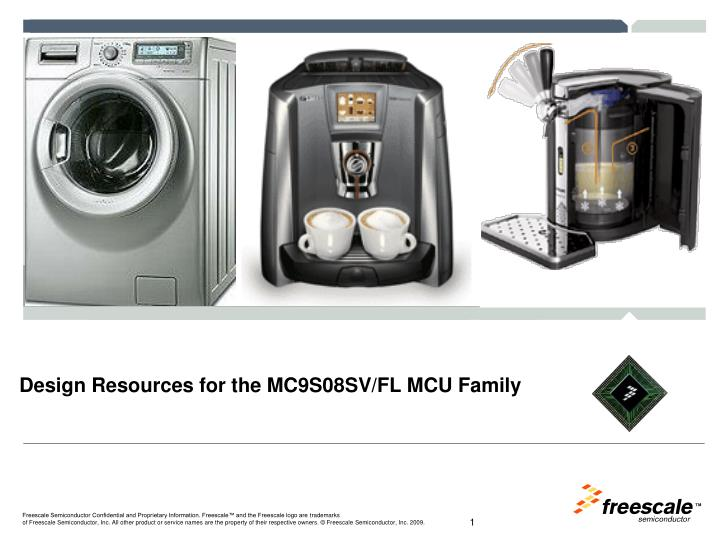 Design resources for the mc9s08sv fl mcu family