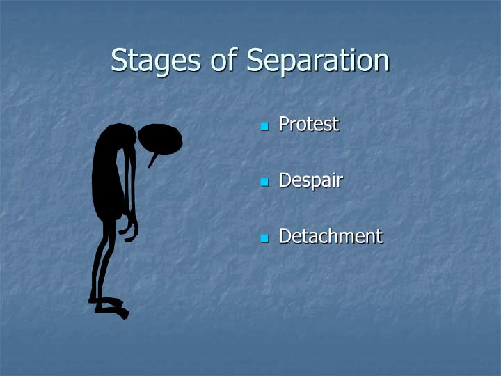 Stages of Separation