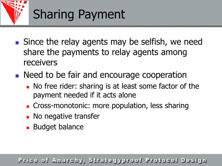 Sharing Payment