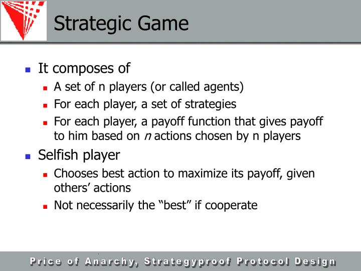 Strategic Game