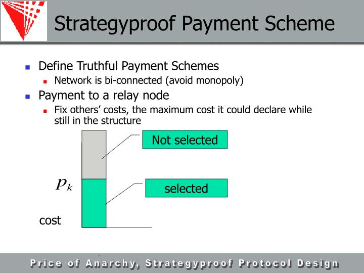 Strategyproof Payment Scheme