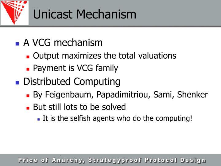Unicast Mechanism