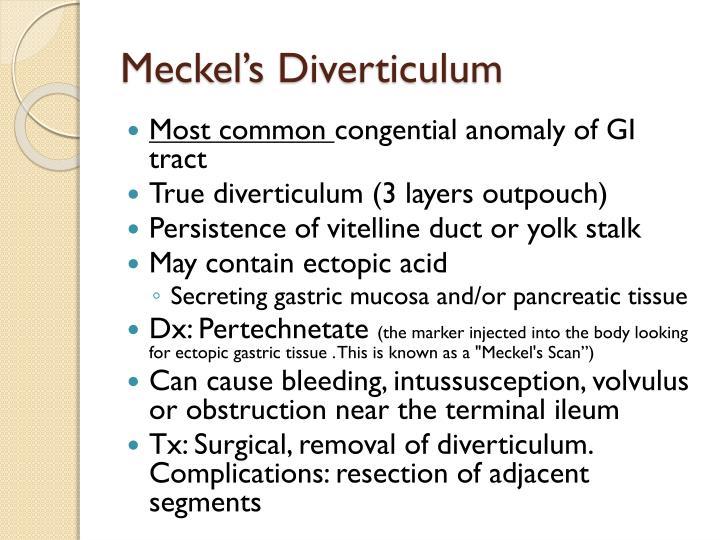 Meckel's