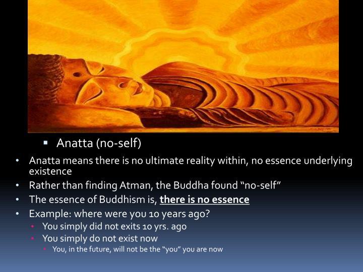 Anatta (no-self)