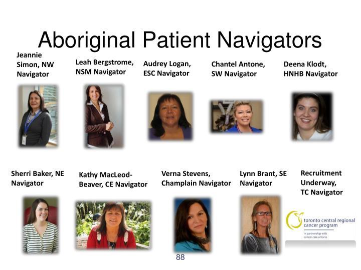 Aboriginal Patient Navigators