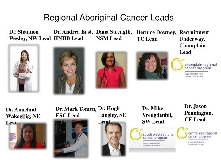 Regional Aboriginal Cancer Leads