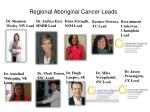 regional aboriginal cancer leads1