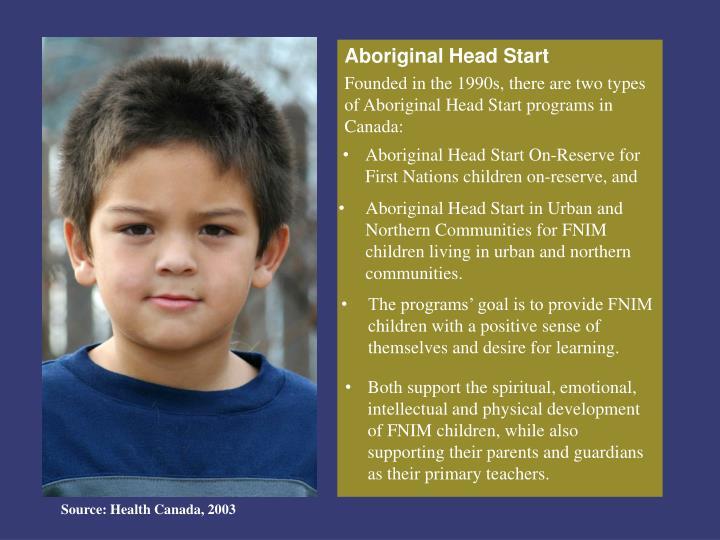 Aboriginal Head Start