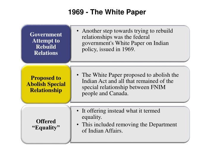 1969 - The White Paper