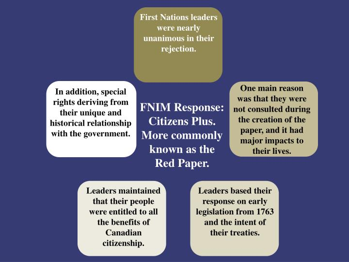 First Nations leaders
