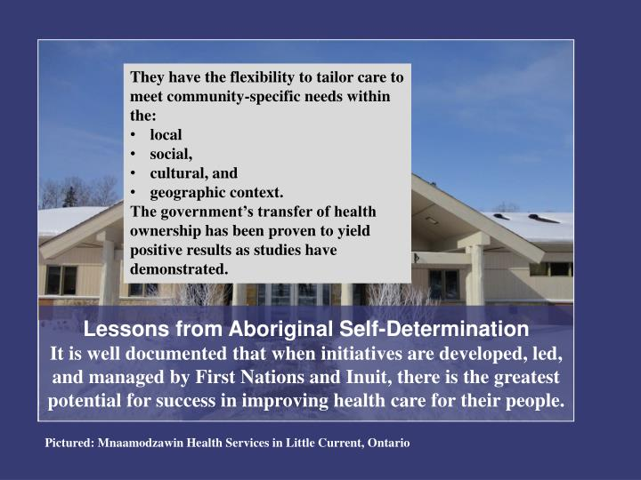 Lessons from Aboriginal Self-Determination