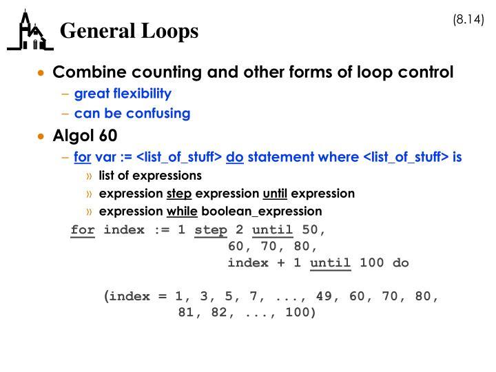General Loops