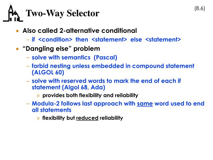 Two-Way Selector