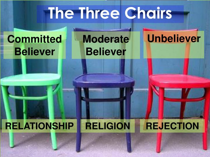 The three chairs