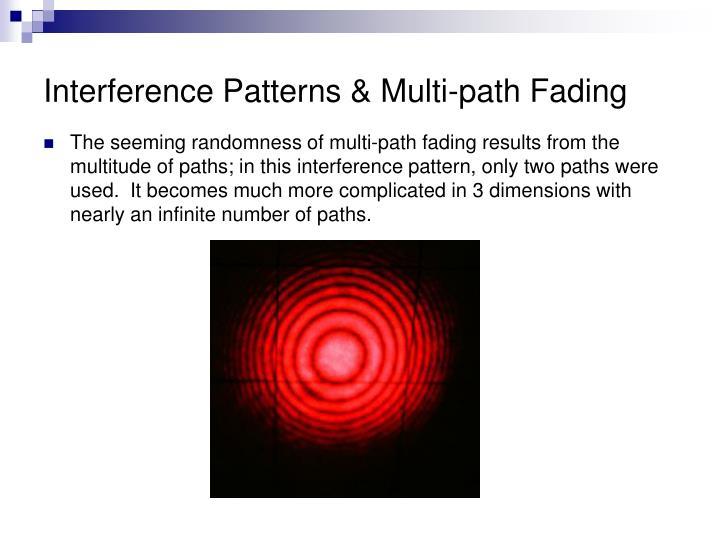 Interference Patterns & Multi-path Fading