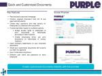quick and customized documents