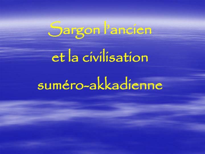 Sargon l'ancien