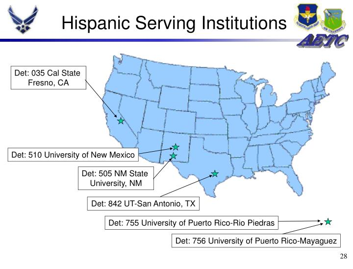 Hispanic Serving Institutions