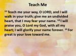 teach me1