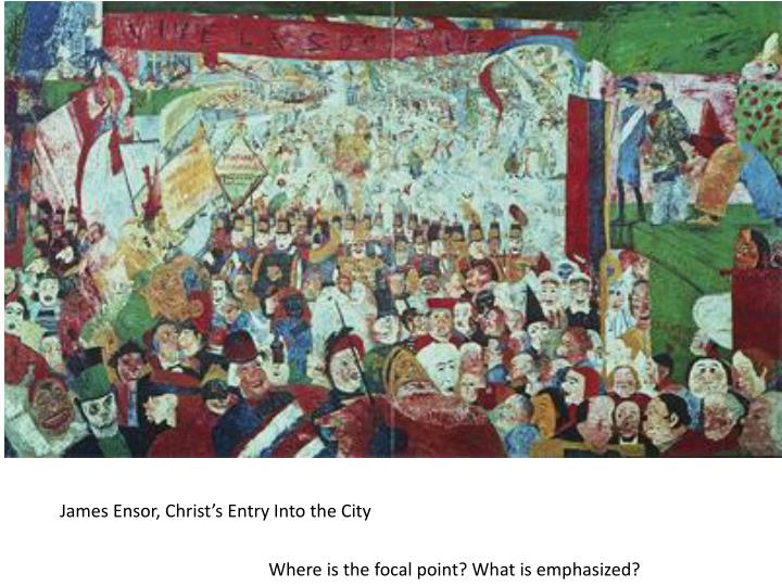 James Ensor, Christ's Entry Into the City