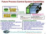 future process control system capabilities