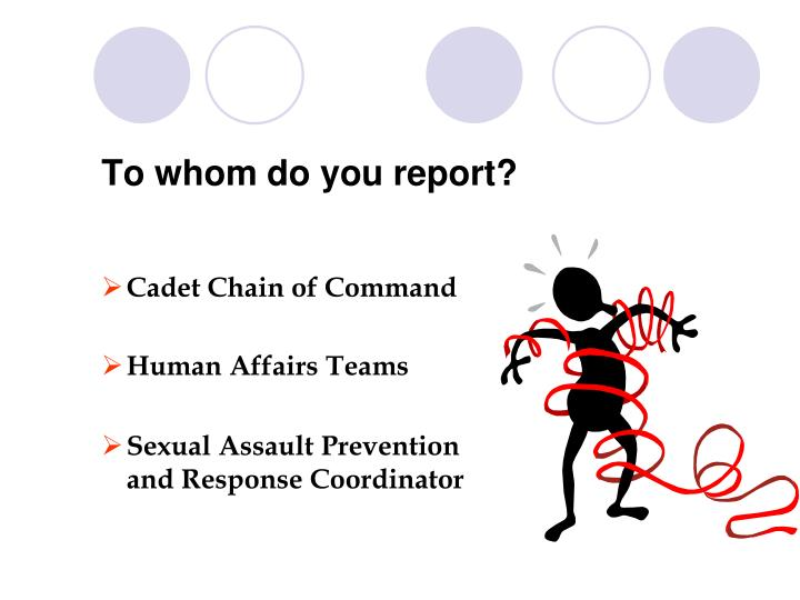 To whom do you report?