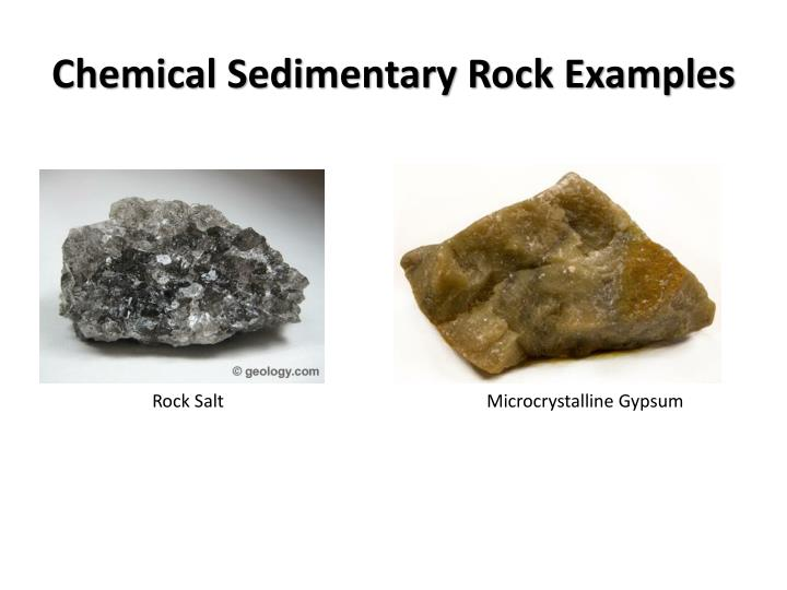 Chemical Sedimentary Rock Examples