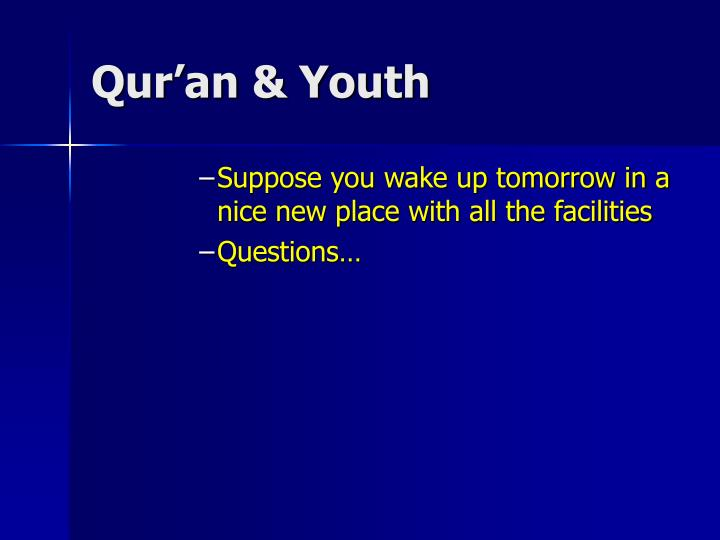 Qur an youth