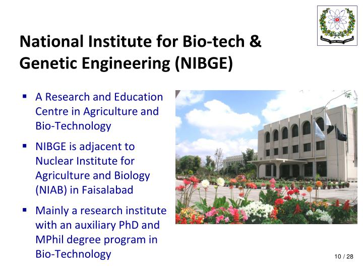 National Institute for Bio-tech &