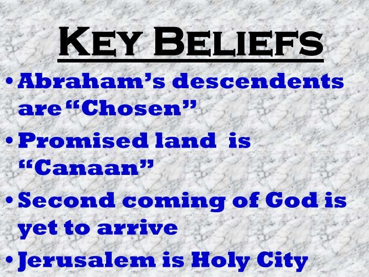 Key Beliefs