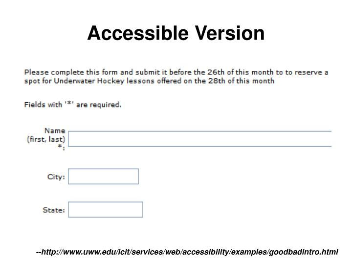 Accessible Version