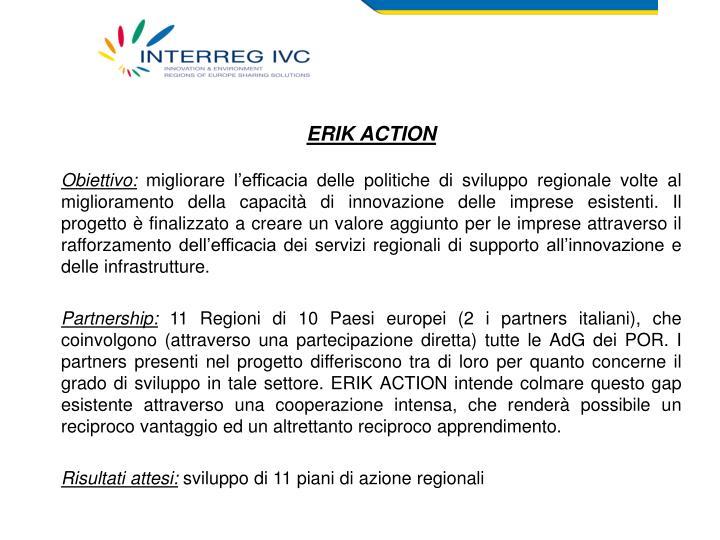 ERIK ACTION