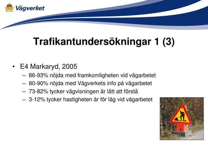 Trafikantundersökningar 1 (3)