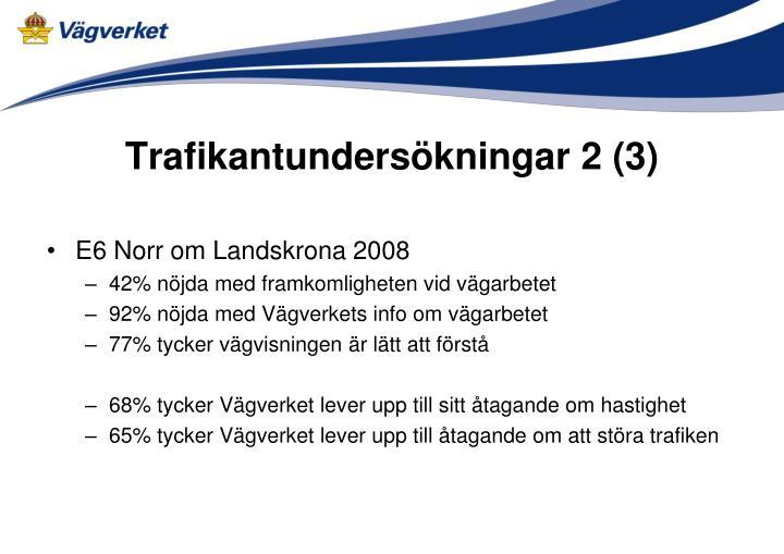 Trafikantundersökningar 2 (3)