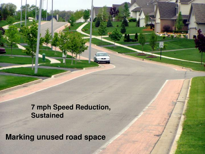 7 mph Speed Reduction, Sustained