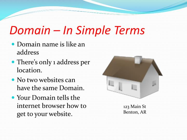 Domain – In Simple Terms