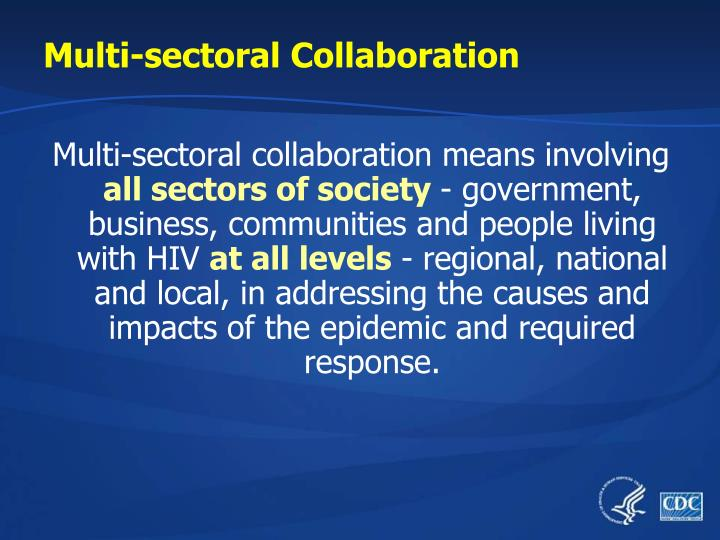 Multi-sectoral Collaboration