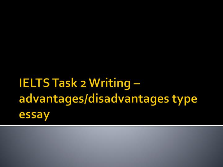 IELTS Writing Task 2: four question types - ielts-simon com