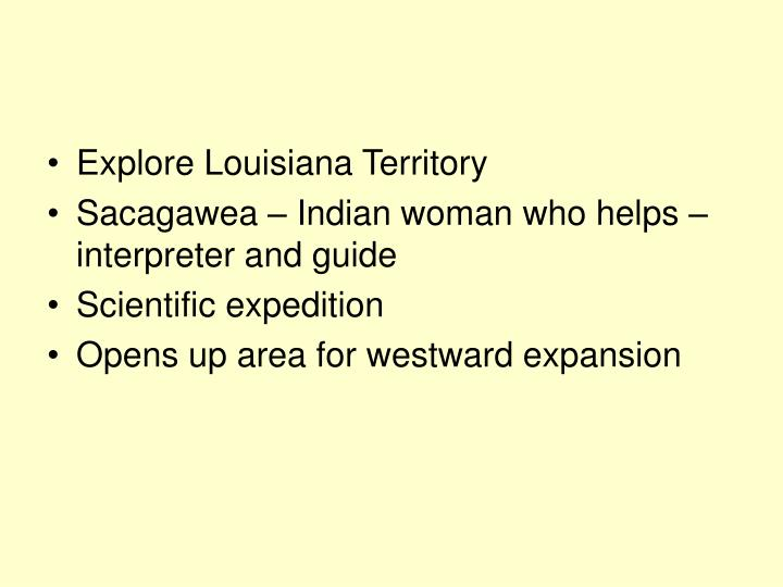 Explore Louisiana Territory