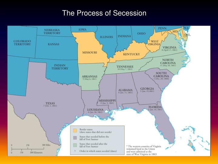 The Process of Secession