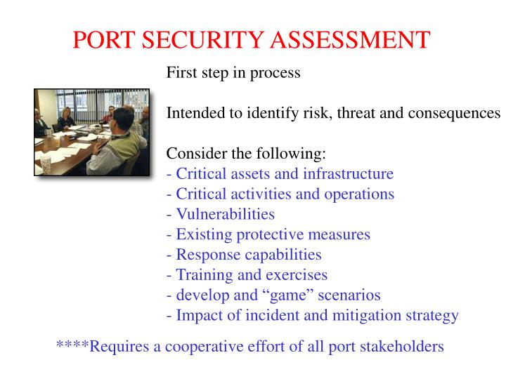 PORT SECURITY ASSESSMENT