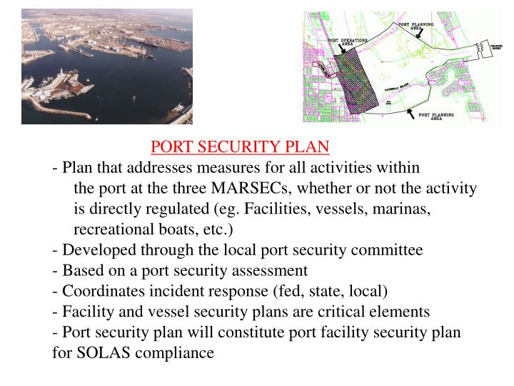 PORT SECURITY PLAN