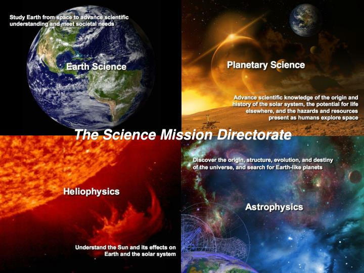 The Science Mission Directorate