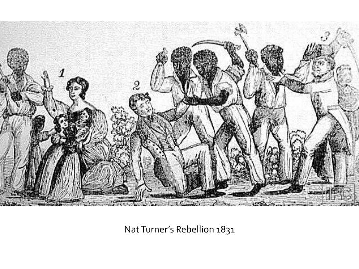 Nat Turner's Rebellion 1831