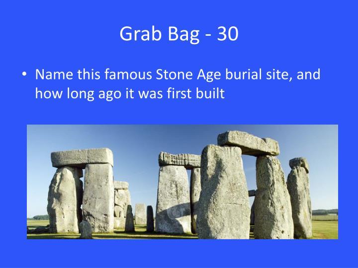 Grab Bag - 30