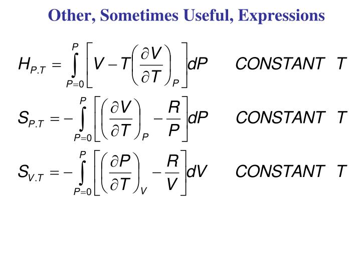 Other, Sometimes Useful, Expressions