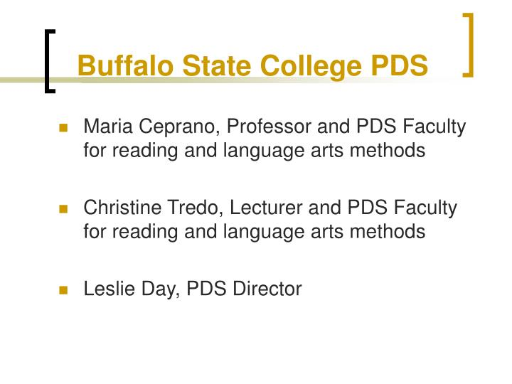 Buffalo State College PDS