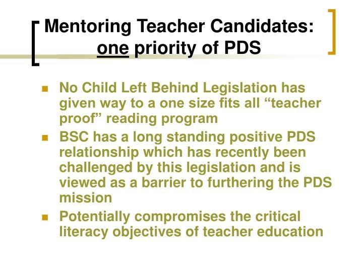 Mentoring Teacher Candidates: