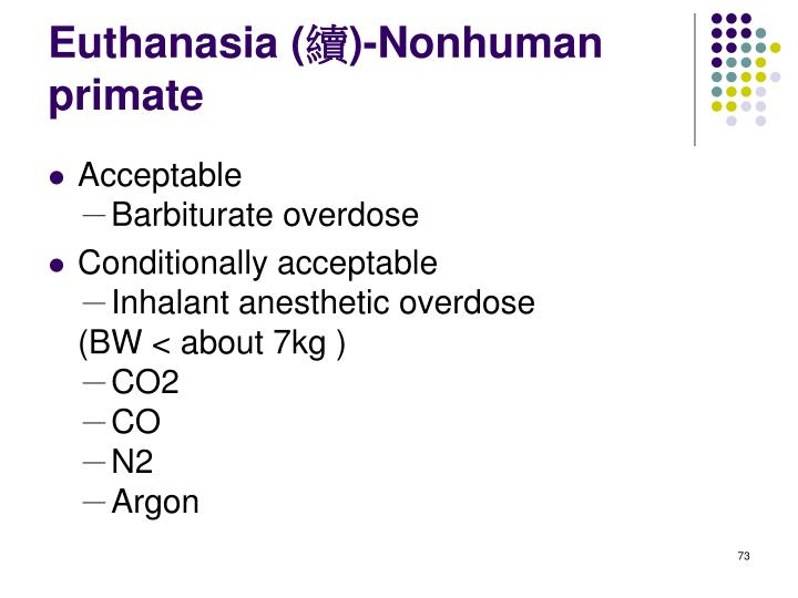 Euthanasia (