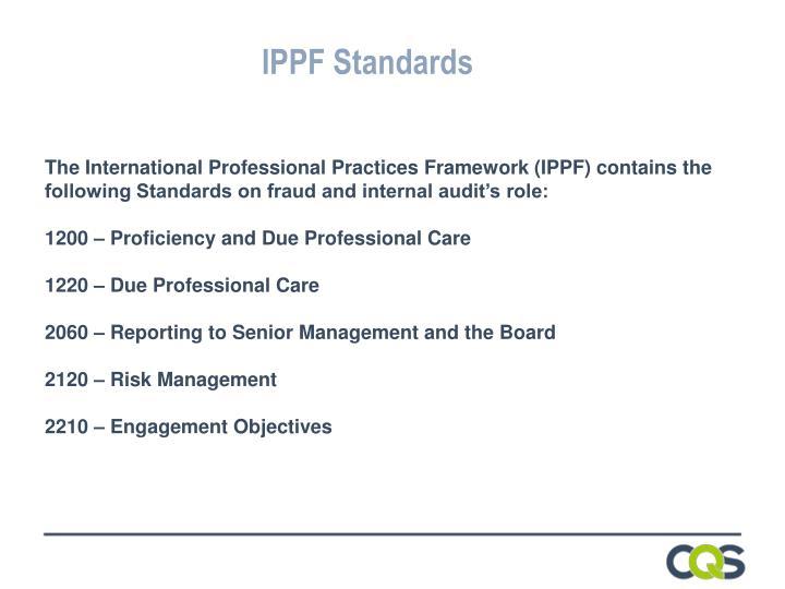 IPPF Standards